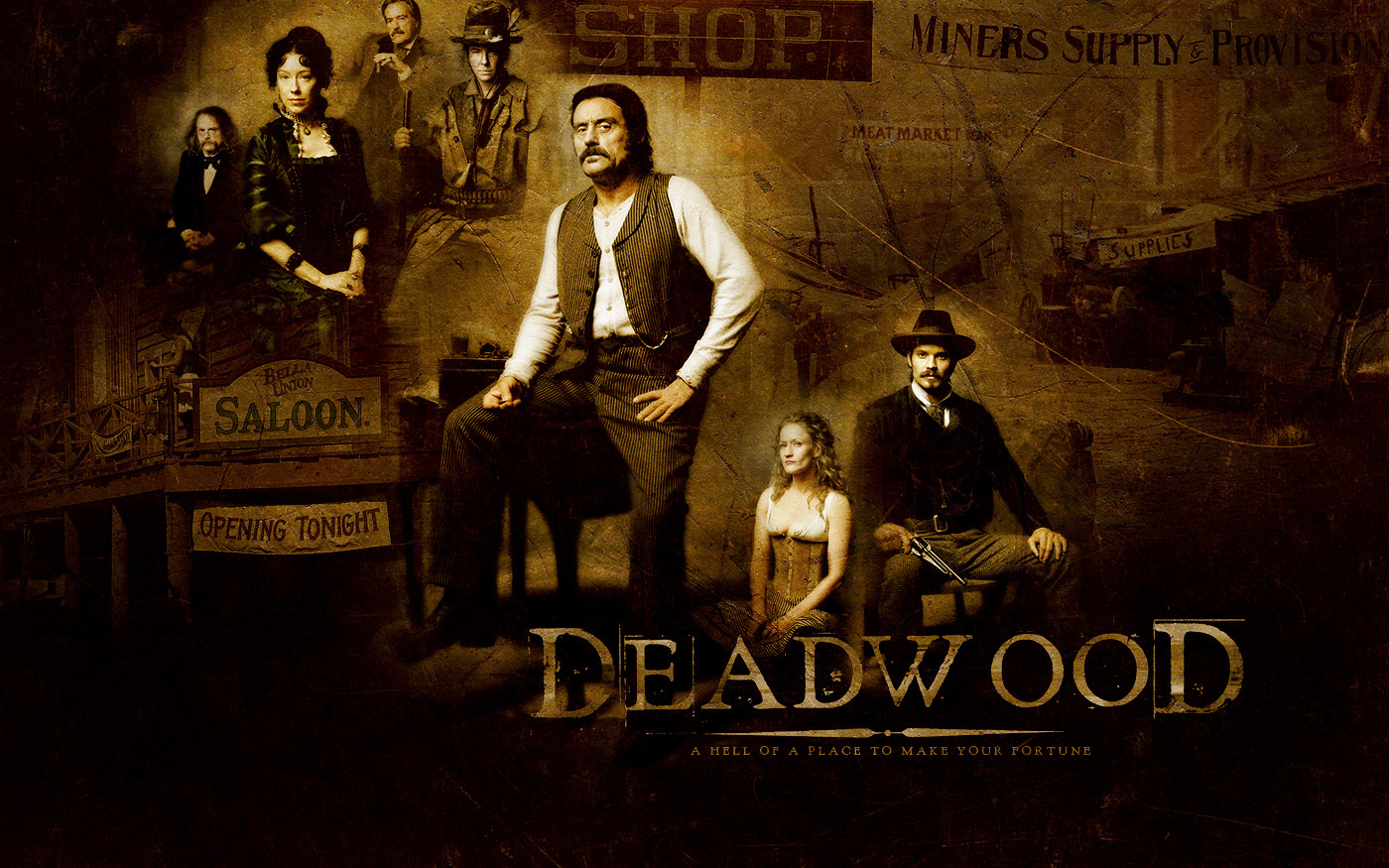 Postponing the Deadwood Finale, Because I Can…